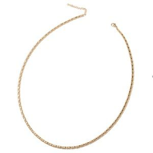 Jewelry - ION Plated YG Stainless Steel Fancy Necklace
